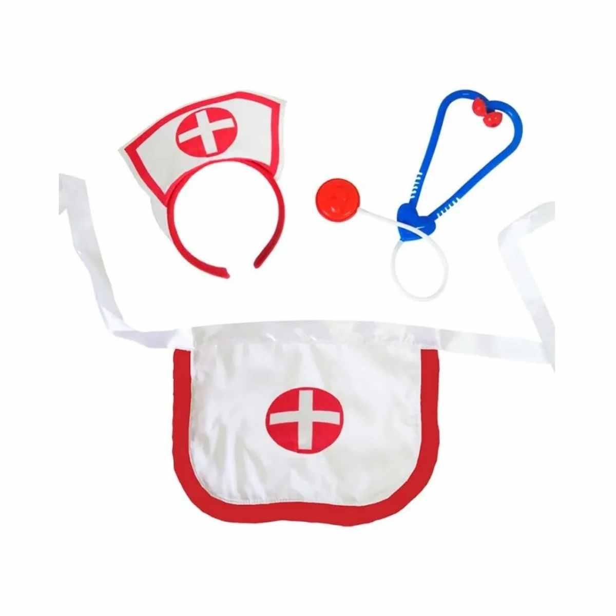 Kit Enfermeira Simples (Acessórios + Meia 7/8)