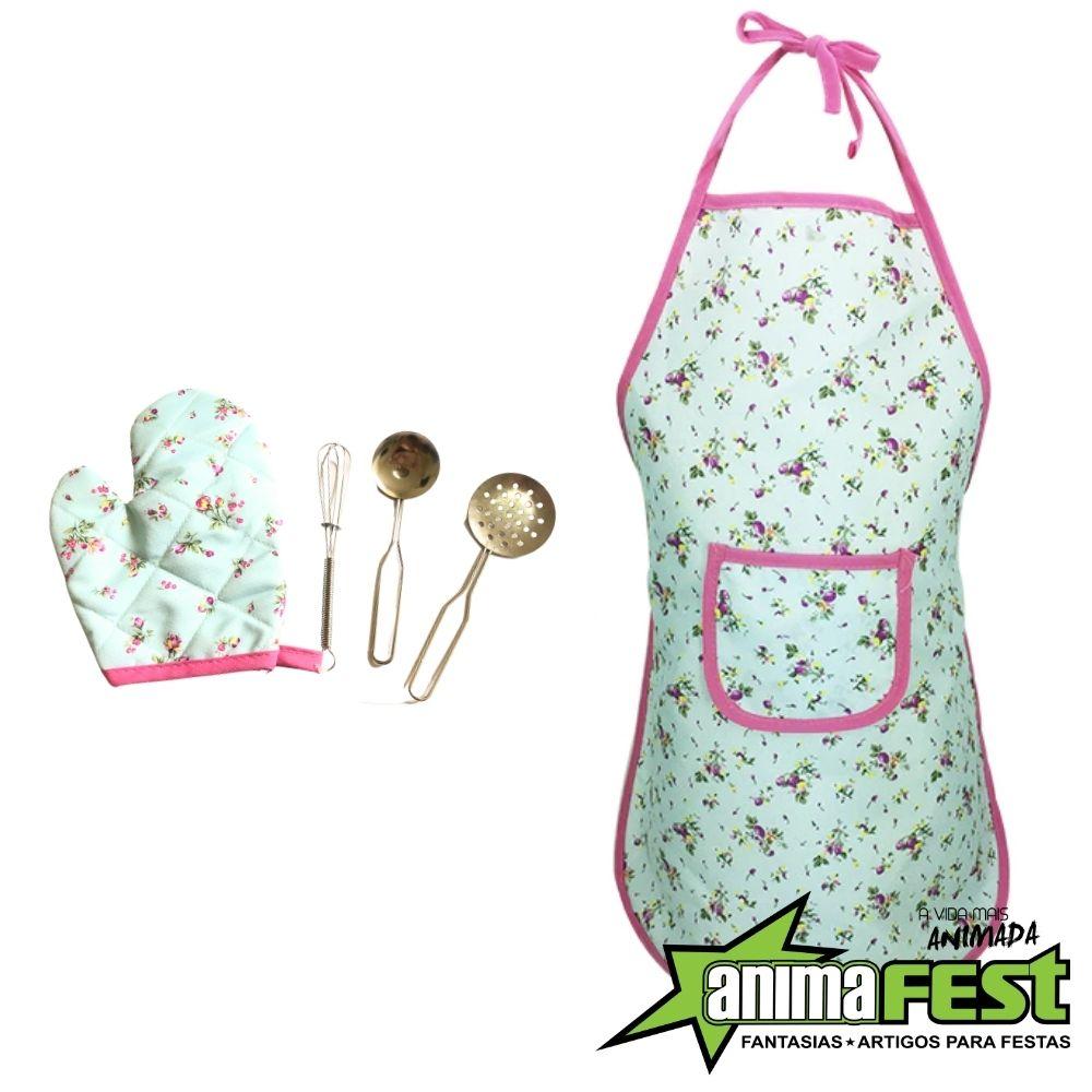 Kit Fantasia Cozinheira Master