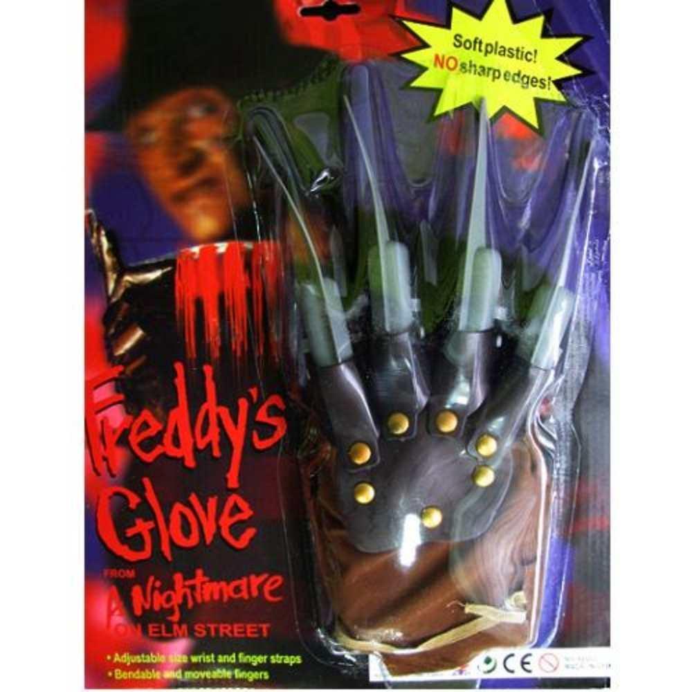 Kit Freddy Krueger Terror (Garra + Máscara + Chapéu Gangster)