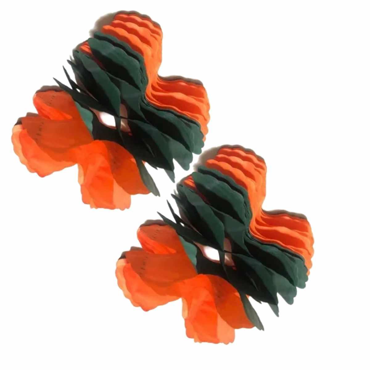 Kit Guirlandas Decorativas Halloween c/8 pçs