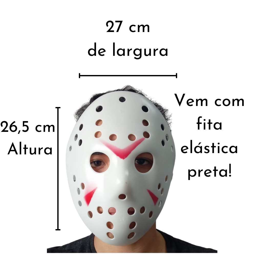 Kit Jason (Máscara +  Facão)