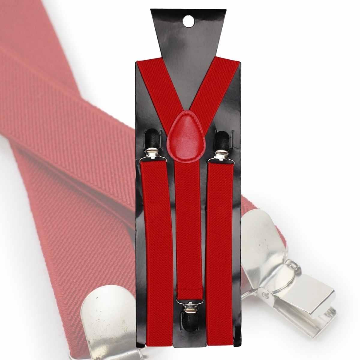 Kit Diabinha (Saia de Tule Vermelha Adulta + Kit Diabinha Paete + Suspensório Vermelho)