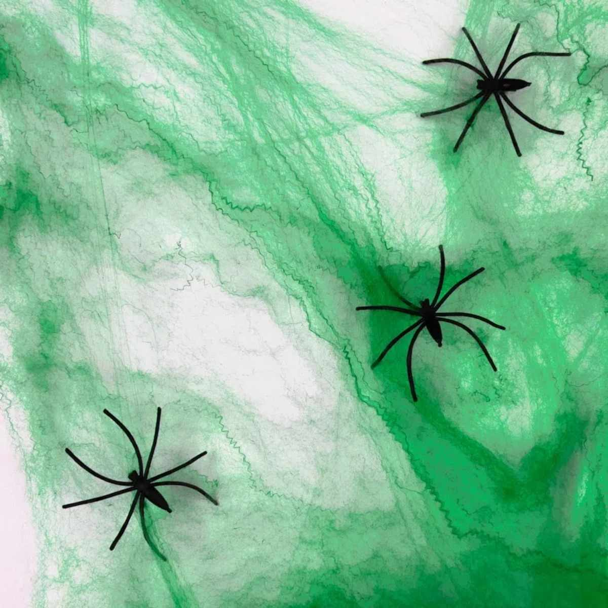 Teia de Aranha Colorida Kit c/ 4 Pacotes