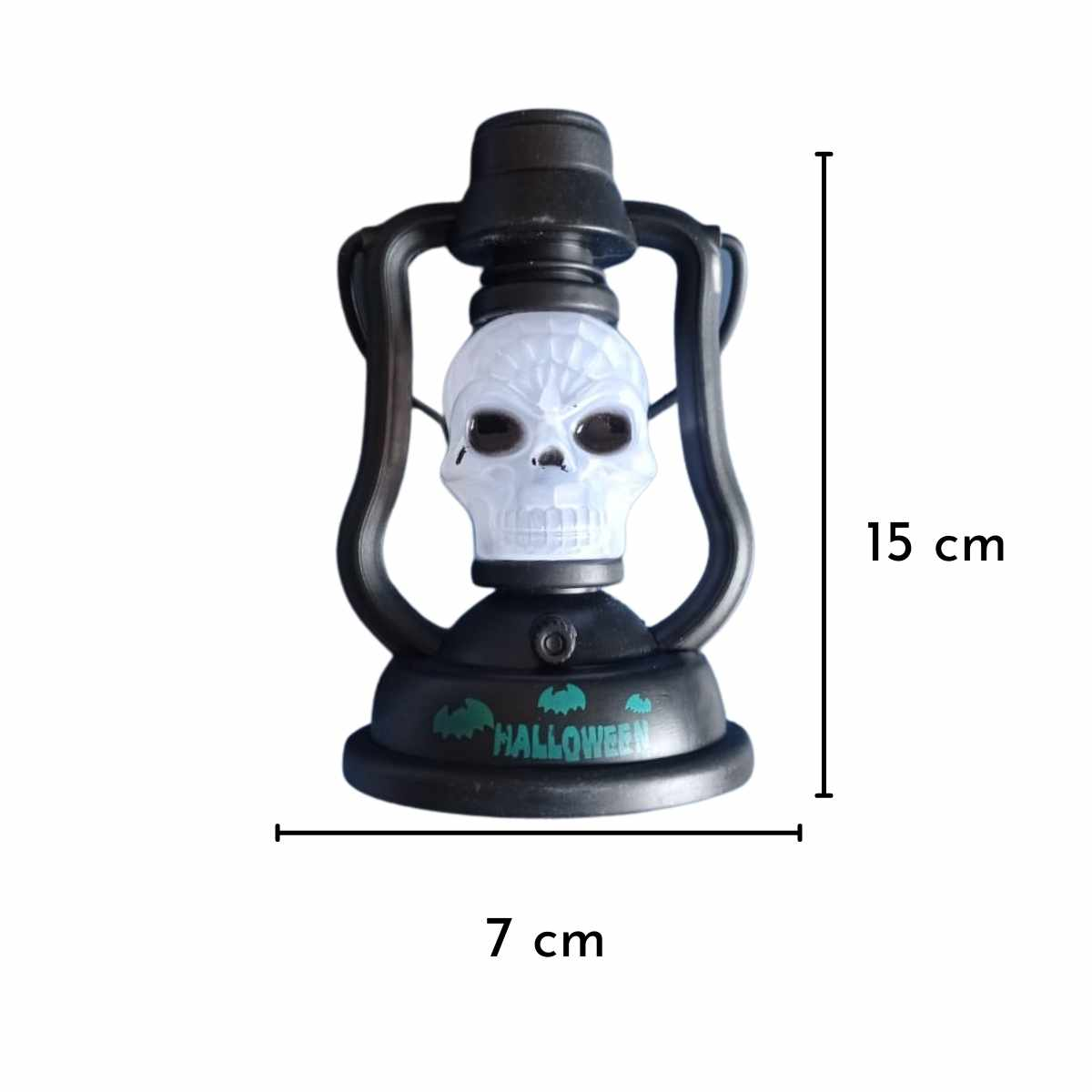 Lampião Halloween Mod. Div. 12cm