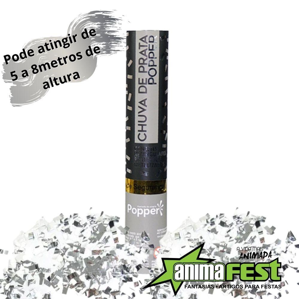 Lança Confete Chuva de Prata 30 cm Ref. 8230-2