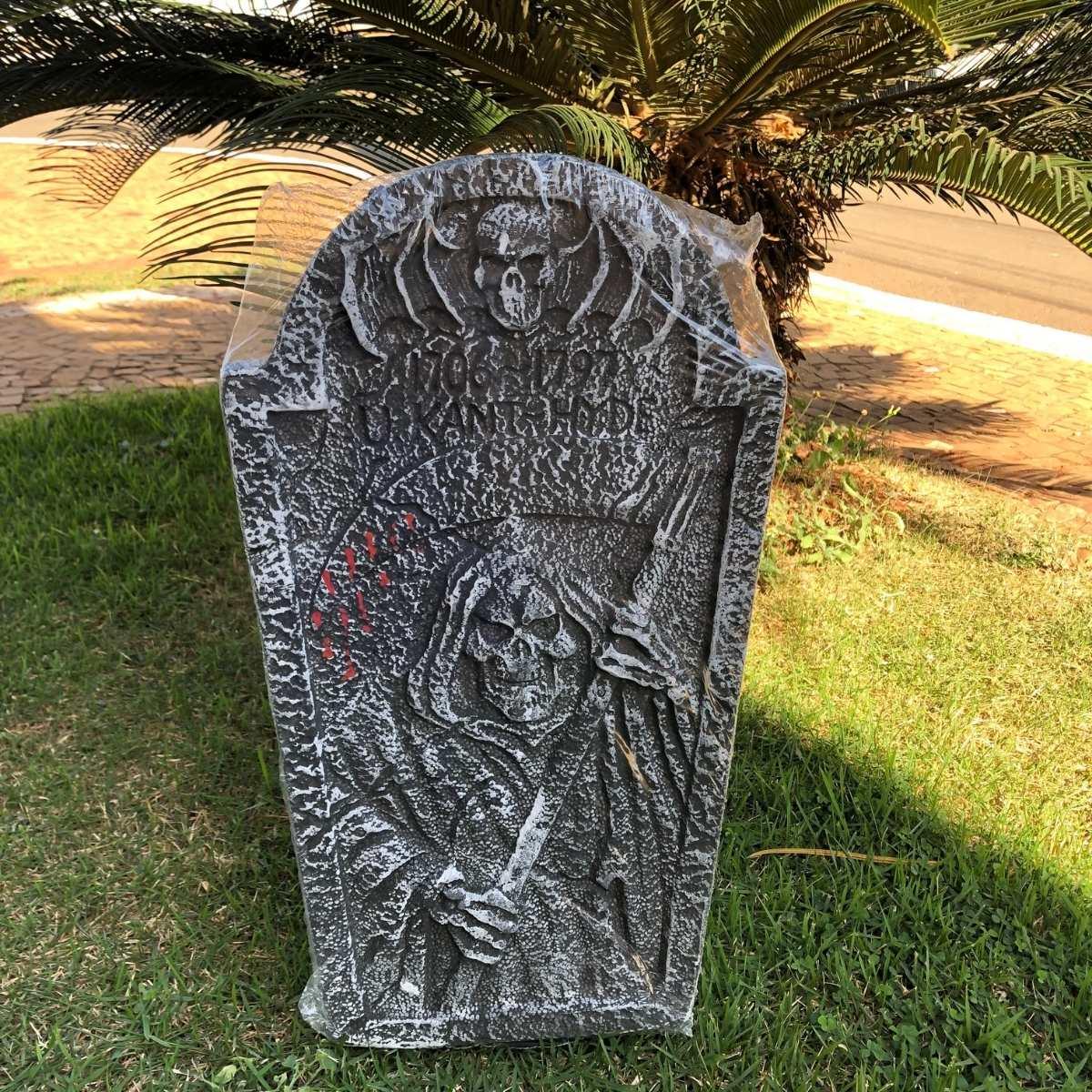 Lápide Halloween Isopor 58cm