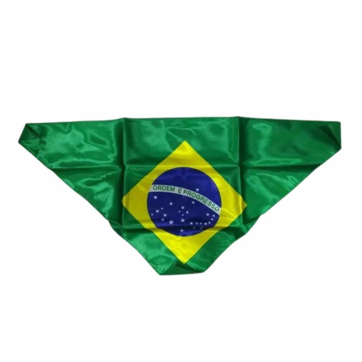 Lenço Bandeira do Brasil