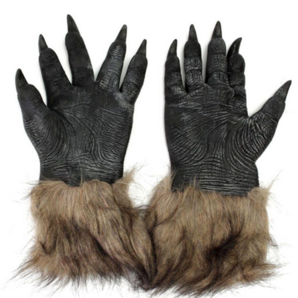 Luva Lobo Peluciada - 22cm