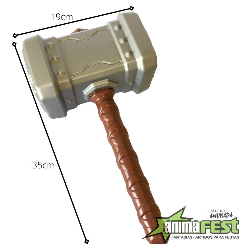 Martelo Thor Plástico 35cm