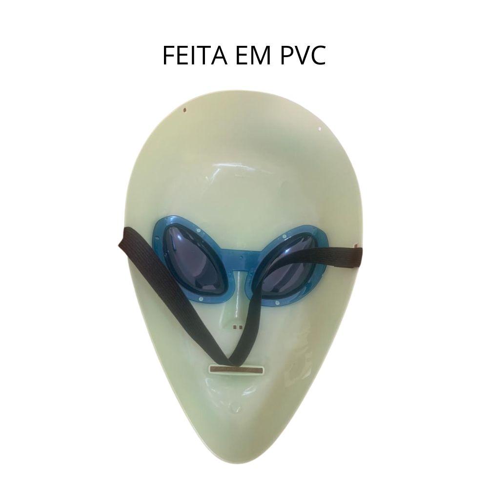 Máscara Alien (Brilha na Luz Negra)