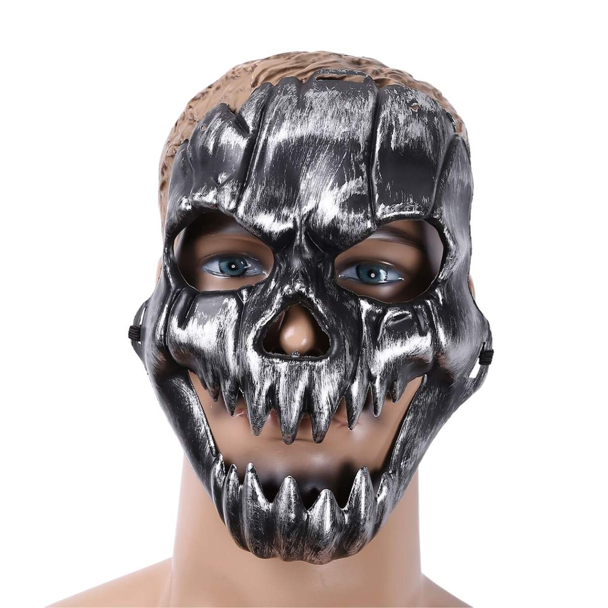 Máscara Caveira Dentes Halloween