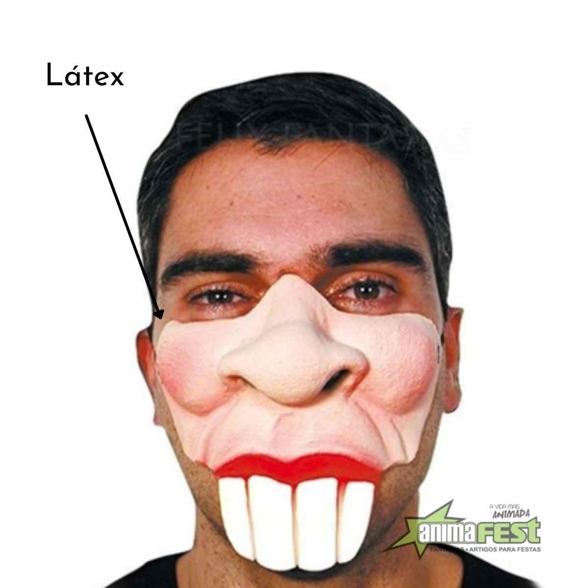 Máscara Dentão