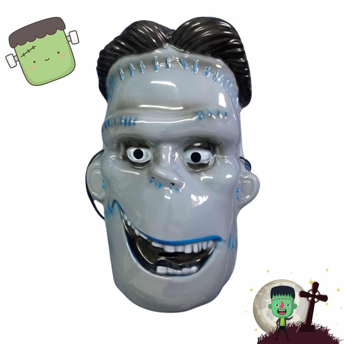 Máscara Frankstein Plástico