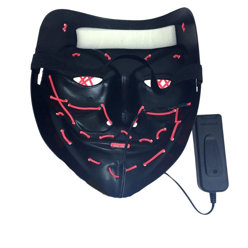 Máscara Led Halloween - Mod. Diversos