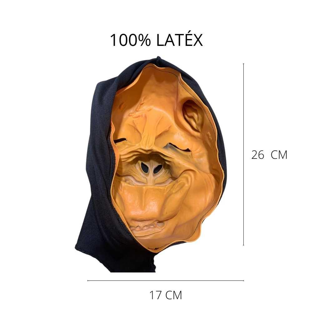 Máscara Lobisomem Látex c/ Capuz