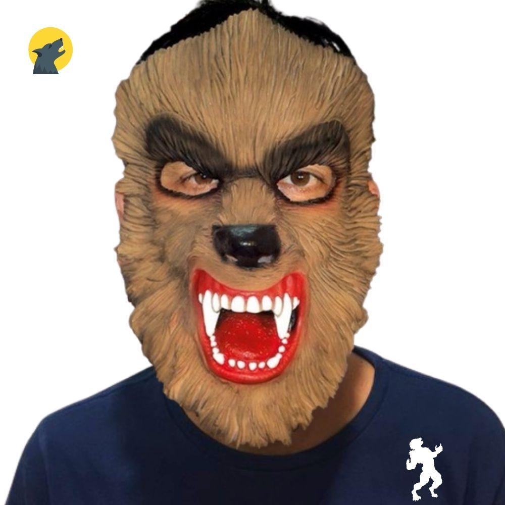 Máscara Lobisomem Raivoso Látex
