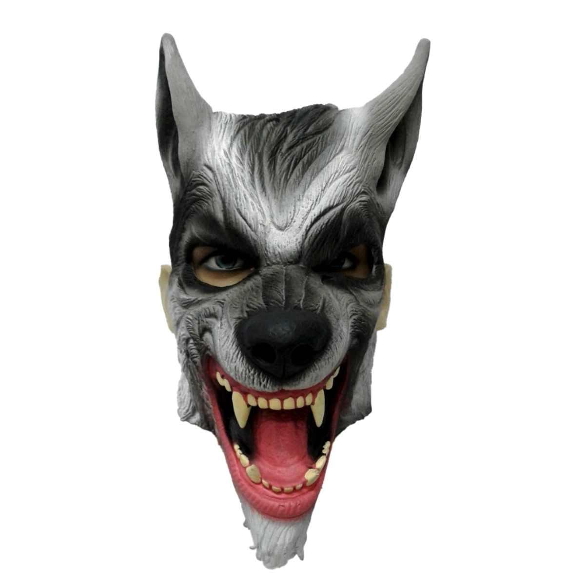 Máscara Lobo Látex (SP)