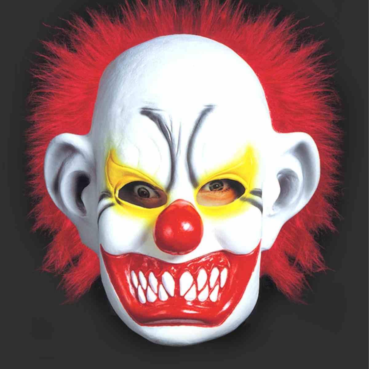 Máscara Palhaço Assustador Latéx
