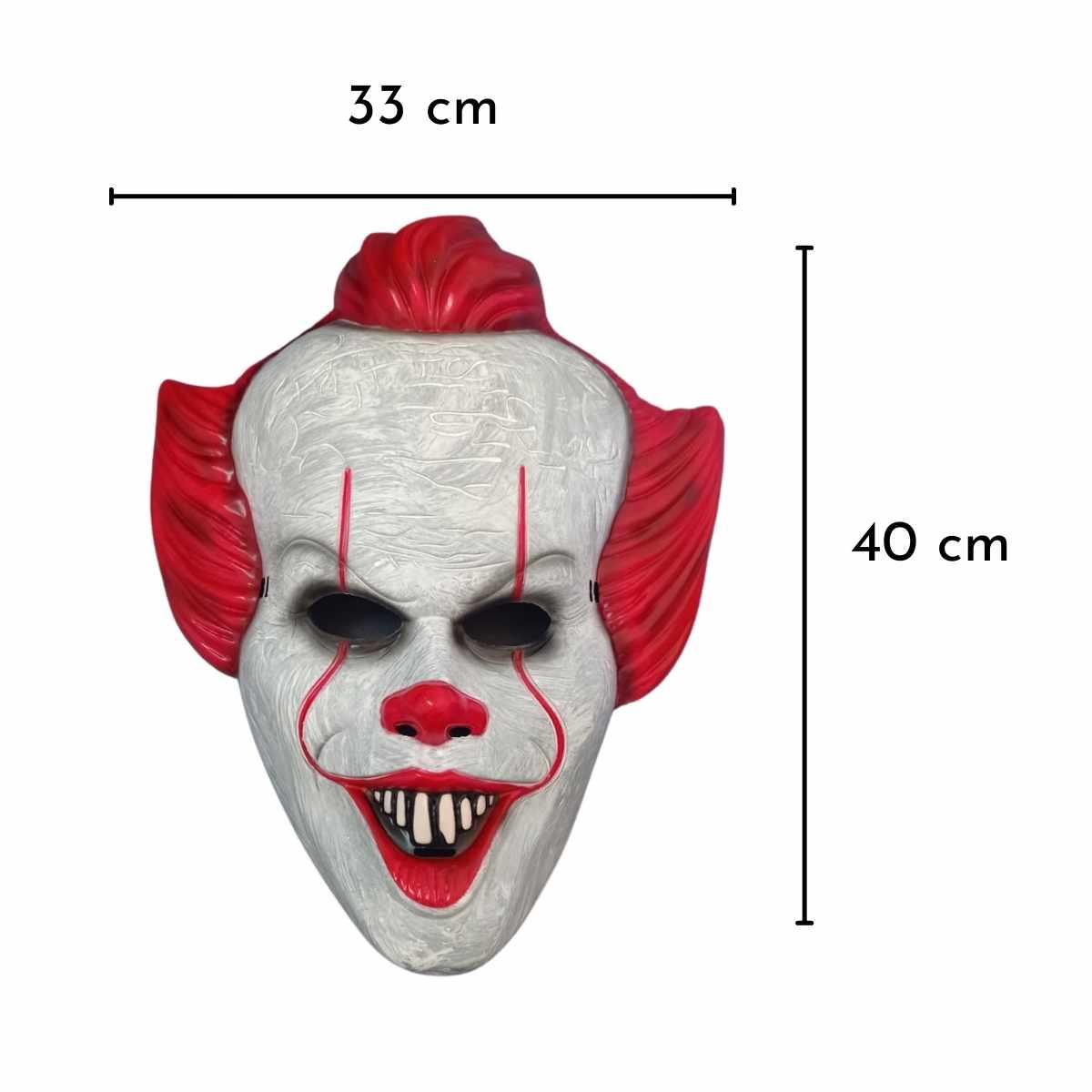 Máscara Palhaço IT Plástico