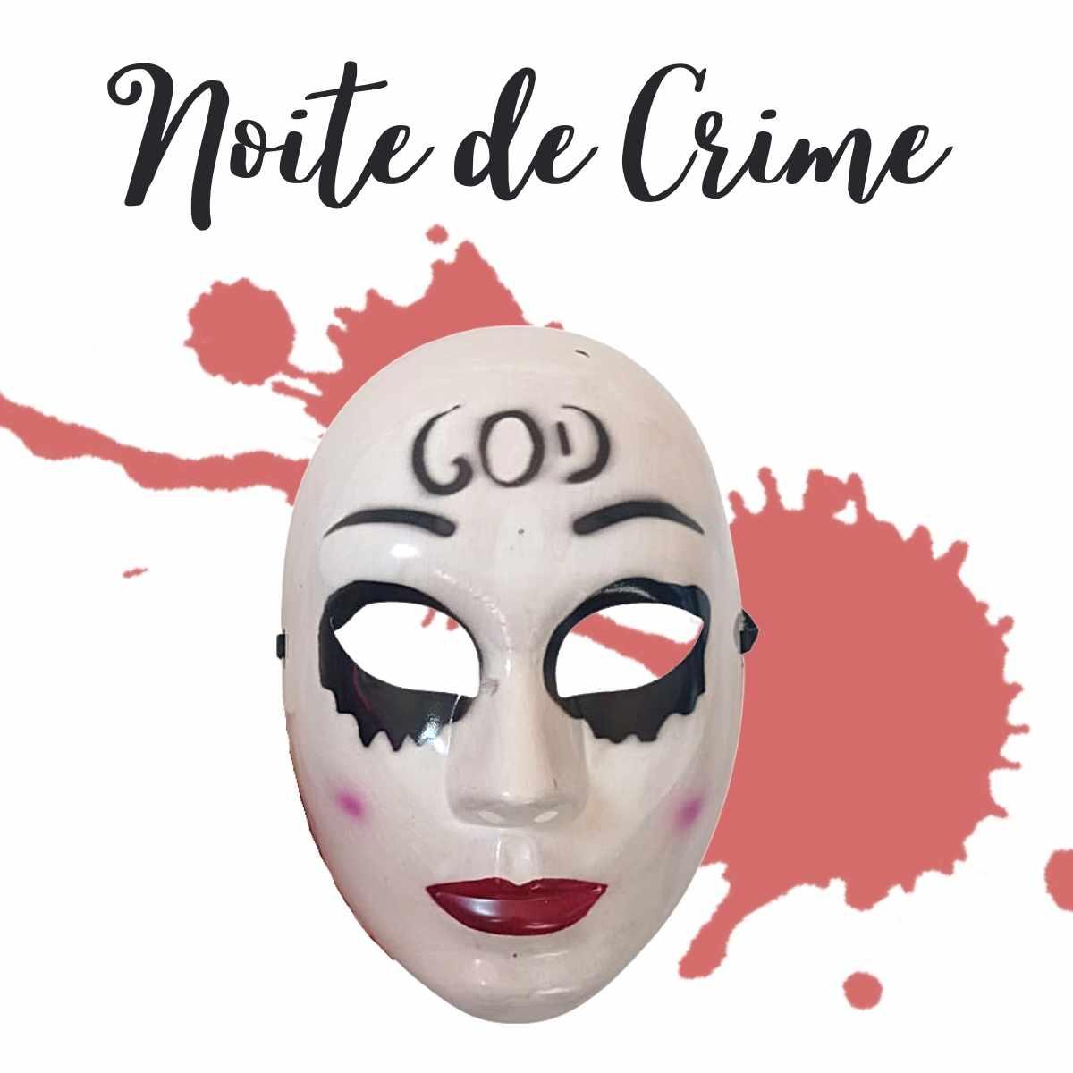 Mascara Uma Noite de Crime God