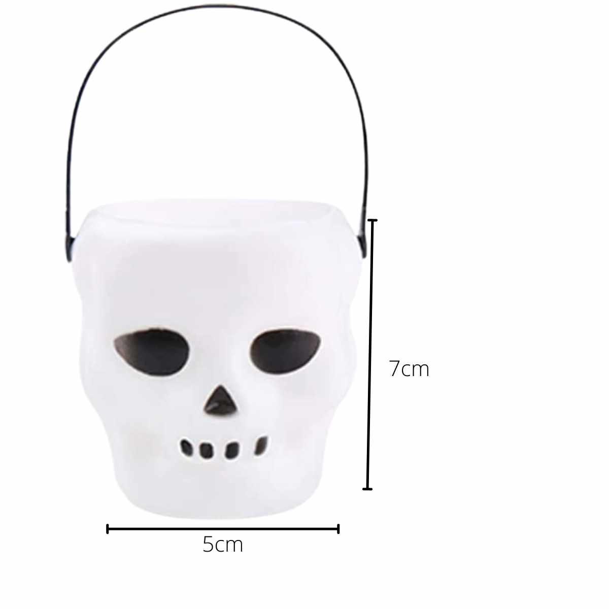 Mini Balde Cranio c/6 unidades