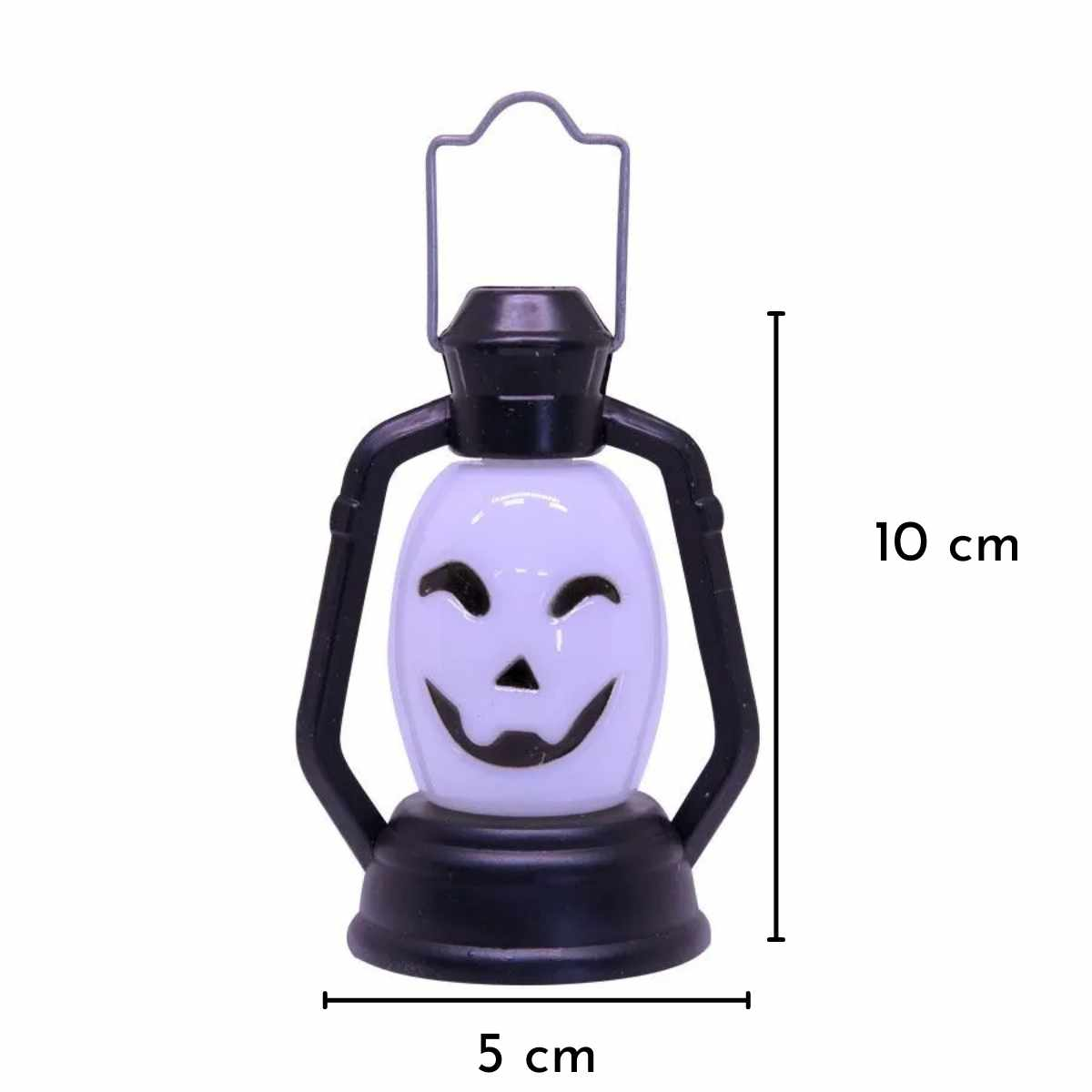 Mini Lamparina Halloween Mod. Div. 9cm