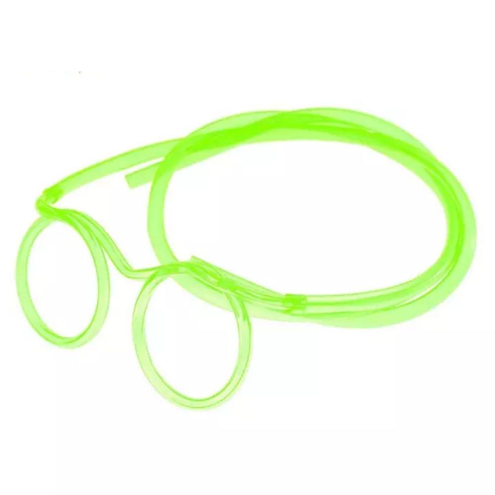 Óculos Canudo Divertido Reutilizável Chaves KIT c/15
