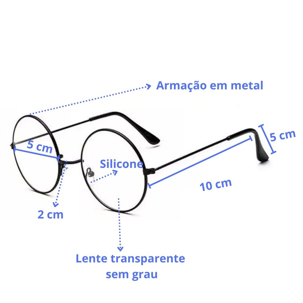 Óculos Harry Potter com Lente