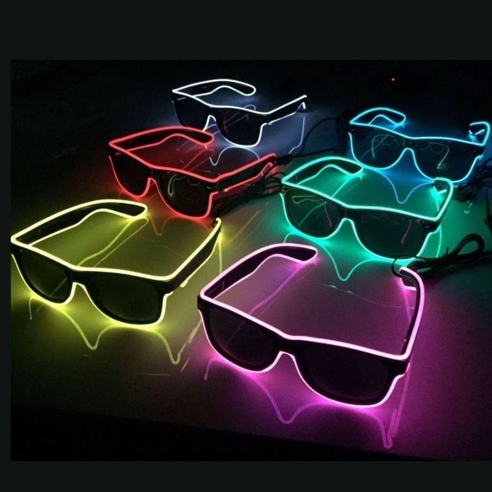 Oculos Led Pisca