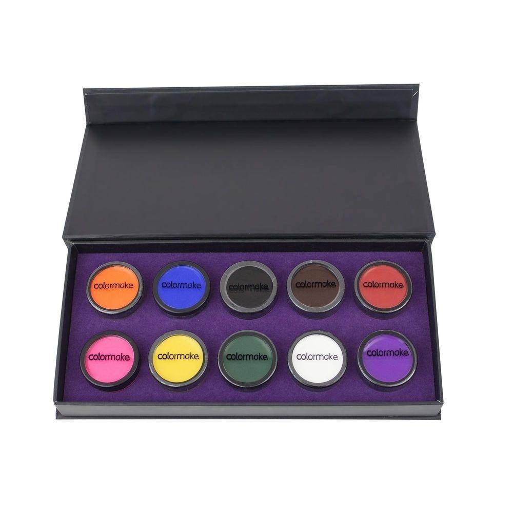Paleta Mini Clown com 10 Cores Makeup ColorMake 8g