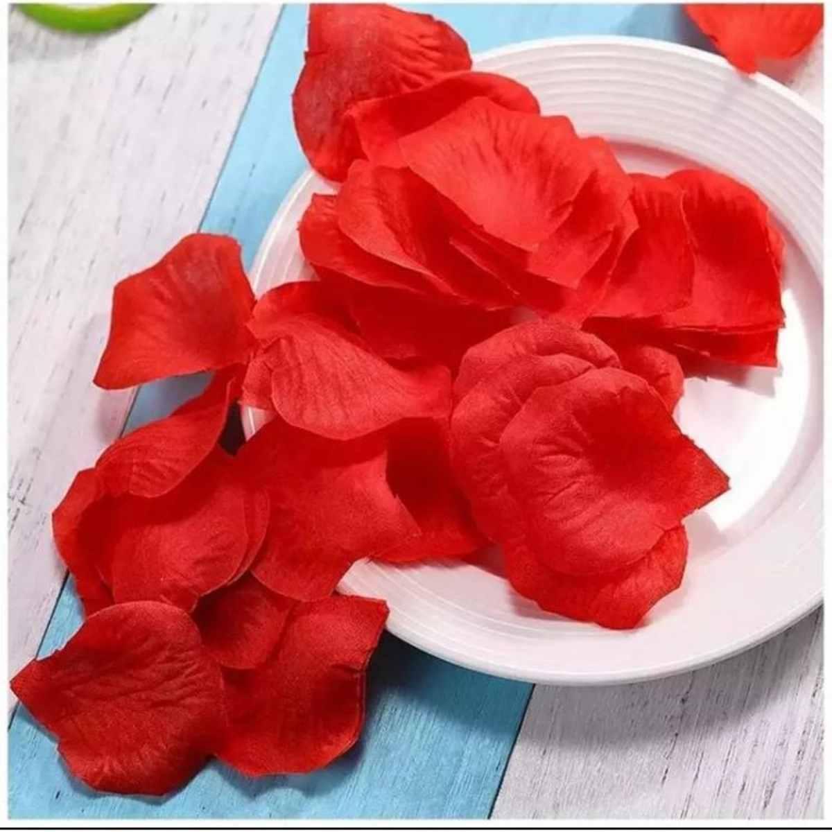 Pétalas Rosas Artificiais Vermelhas 10g