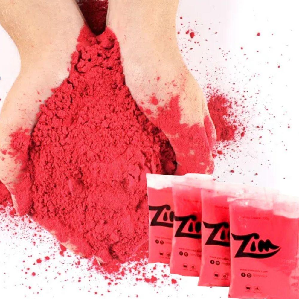 Pó Colorido Zim Color 100g c/10 unid sortidas
