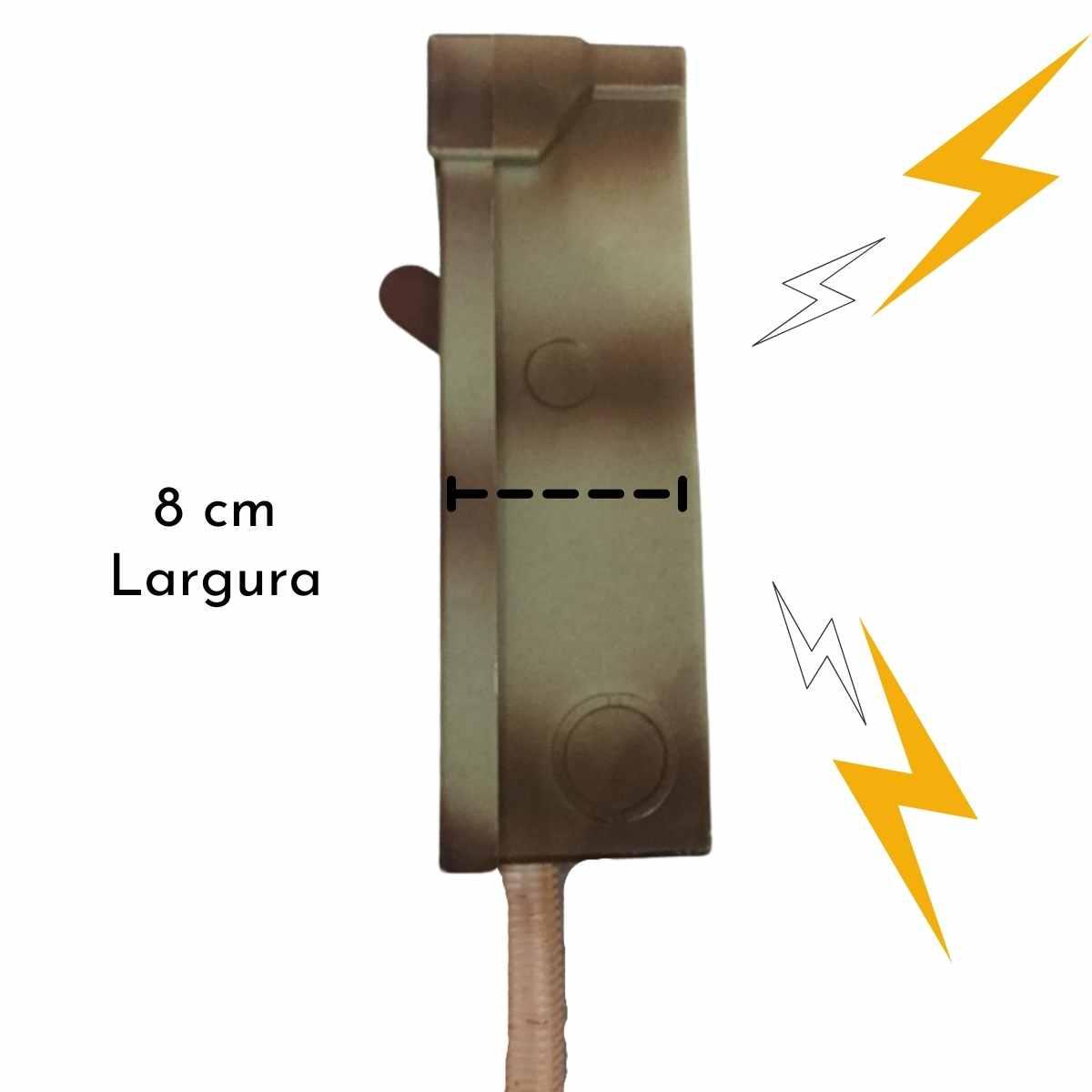 Quadro de Energia c/ Luz e Som 26x19cm
