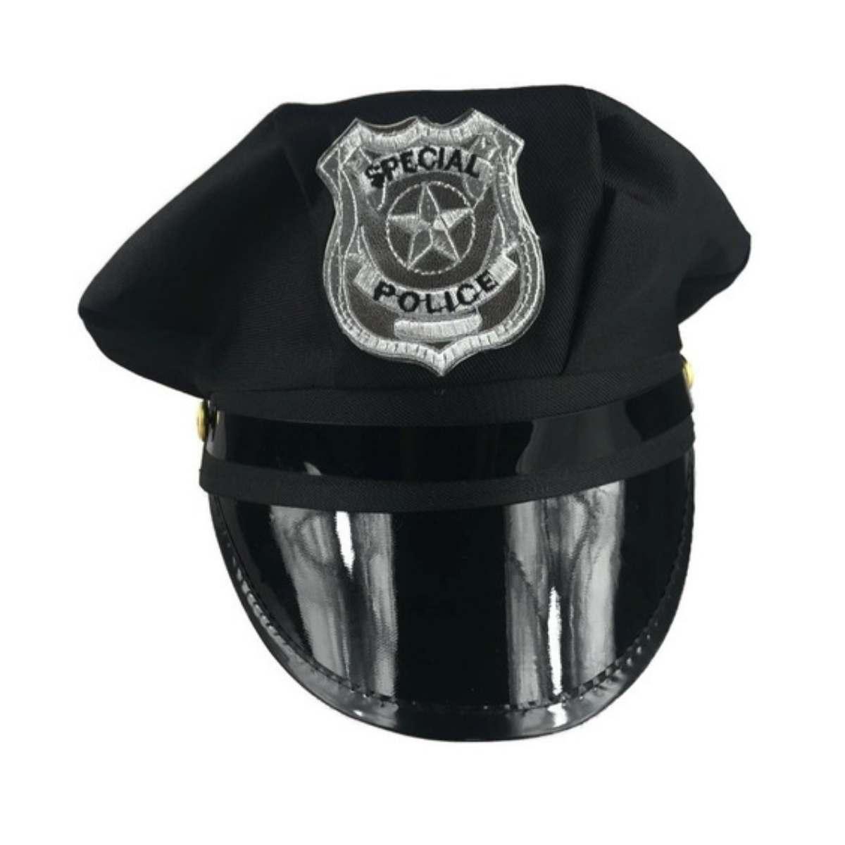 Quepe Policial com Insignia