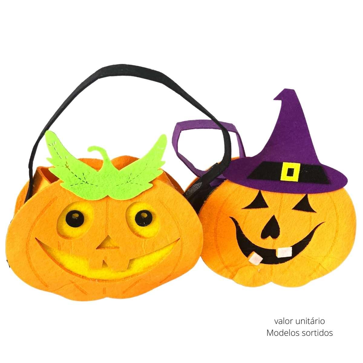 Sacolinha  Halloween Mod. Sortidos