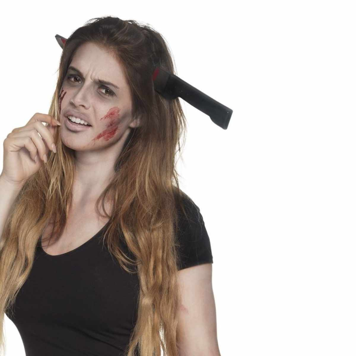 Tiara Faca Halloween