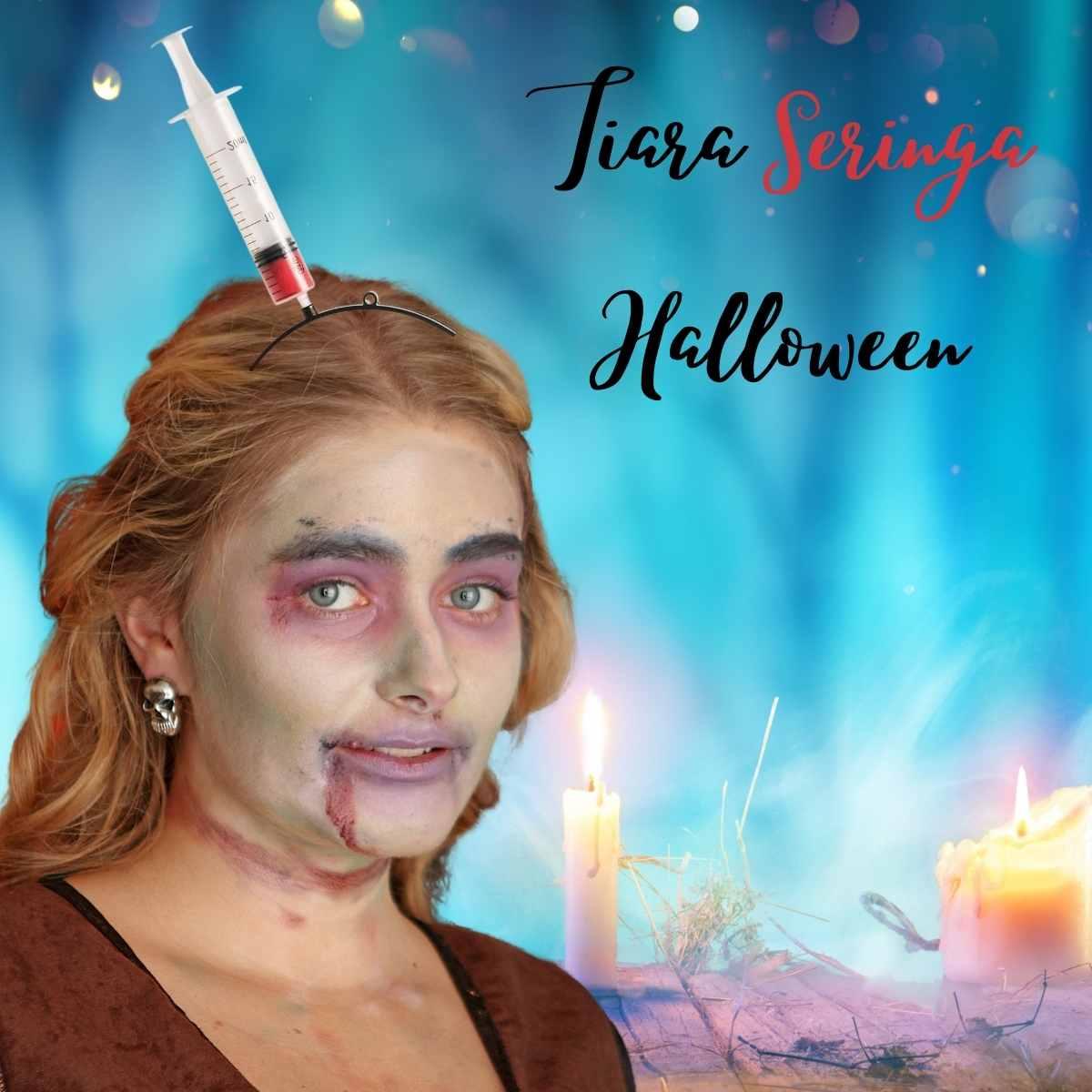 Tiara Seringa Halloween