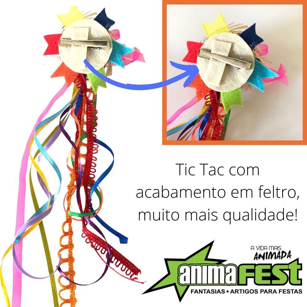 Tic Tac Junino Bandeiras c/ Mini Chapéu (SV)