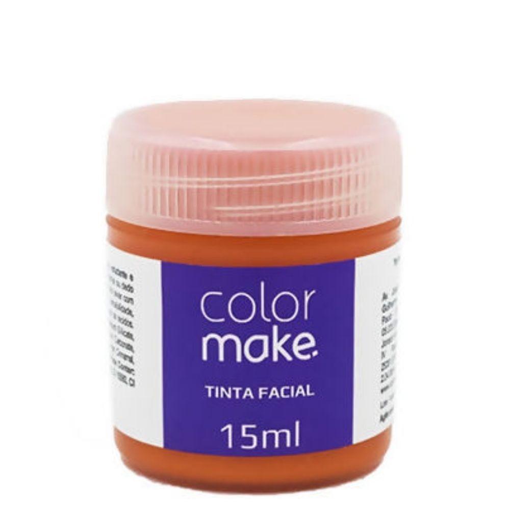Tinta Facial Liquida 15 ml c/ 10 Cores Variadas