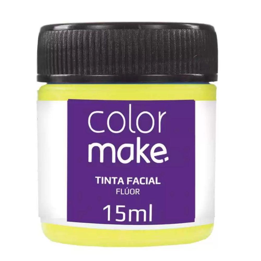 Tinta Facial Liquida Fluorescente 15 ml