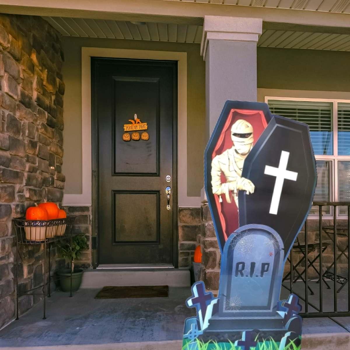 Totem Halloween Mumia 1,46mx70cm