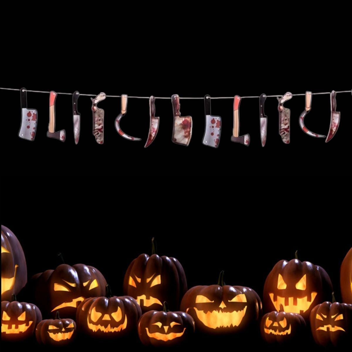 Varal Facas Halloween 2,5m