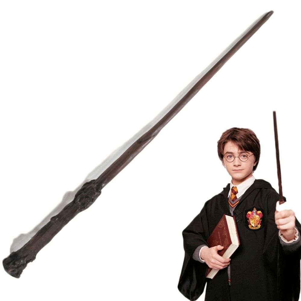 Varinha Harry Potter 34cm em Resina