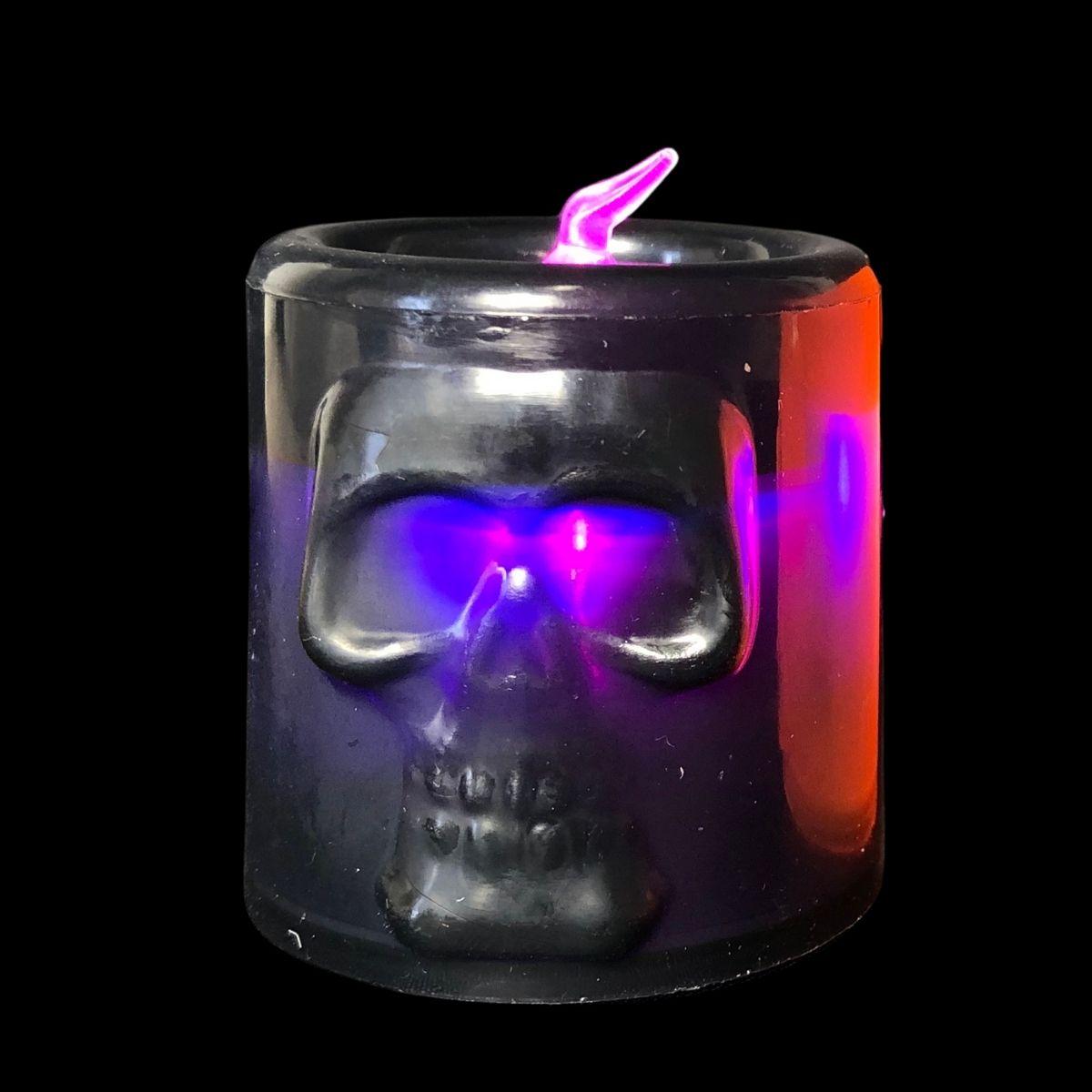 Vela Led Halloween Kit c/4 unid