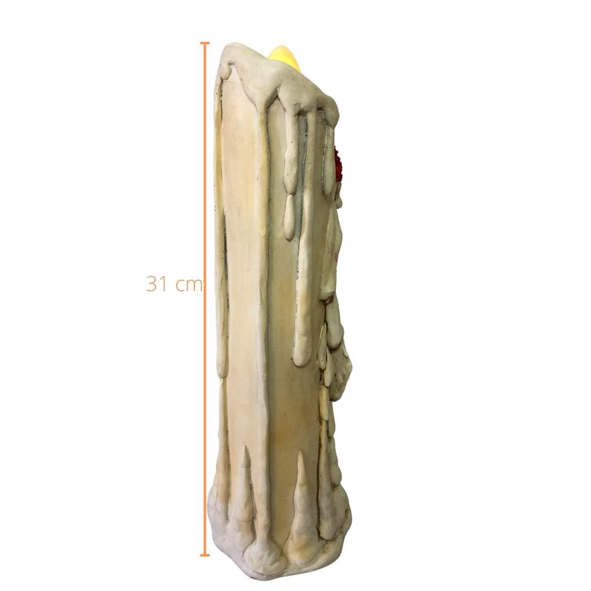 Velas Casal Caveira Mexicana 32cm