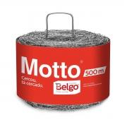 ARAME FARPADO 500M BELGO MOTTO