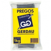 PREGO COM CABEÇA 16X24 GERDAU 1KG