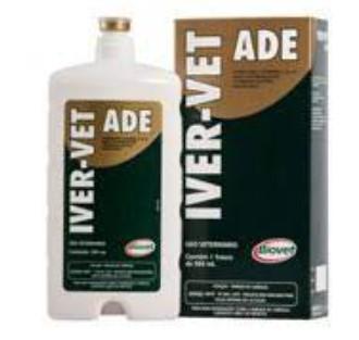 IVER-VET + ADE -IVERMECTINA 1% - 500ML