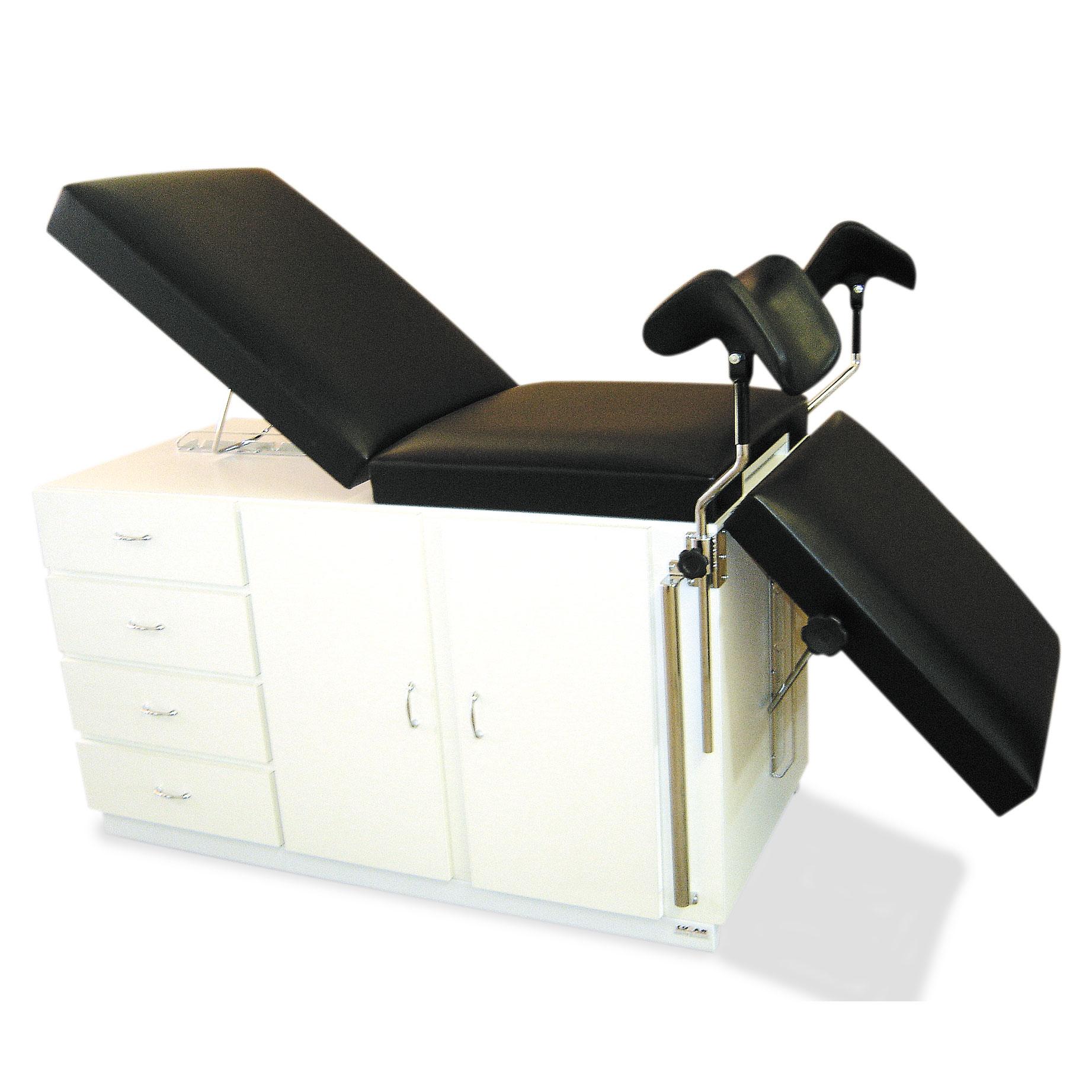 Mesa para exames ginecologico extra luxo
