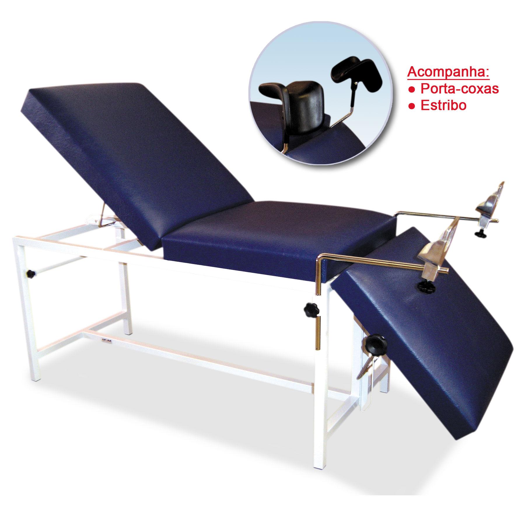 Mesa para exames ultrassom